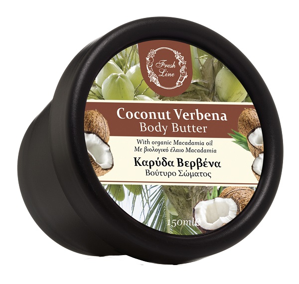 911698 B.BUTTER COCONUT VERBENA 150ml 18